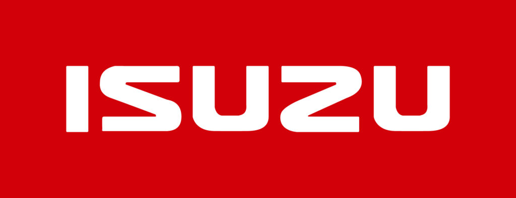 Isuzu logo White on Red 300 dpi